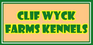 clif wyck kennels logo